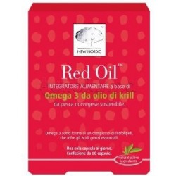 New Nordic Red Oil Integratore con Omega3 60 Compresse