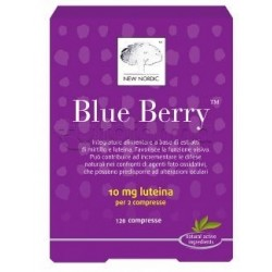 New Nordic Blue Berry Integratore per la Vista 120 Compresse