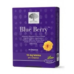 New Nordic Blue Berry Integratore per la Vista 60 Compresse
