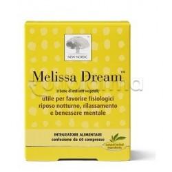 New Nordic Melissa Dream Integratore per Sonno e Relax 60 Compresse