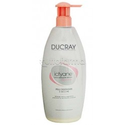 Ducray Ictyane Detergente Delicato Idratante Pelle Secca 500 ml