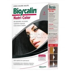 Bioscalin Nutricolor New 1 Nero Trattamento Colorante 150 ml