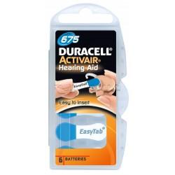 Duracell Batterie Apparecchio Acustico 675 6 Batterie