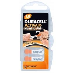 Duracell Batterie Apparecchio Acustico 13 6 Batterie