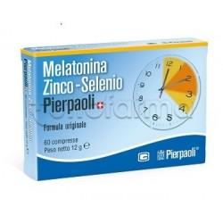 Dr. Pierpaoli Melatonina Zinco e Selenio 60 Compresse