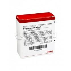 Staphysagria Injeel Heel Guna 10 Fiale Medicinale Omeopatico
