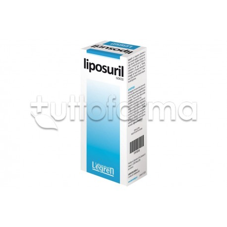 Liposuril Integratore per Stimolare il Metabolismo Gocce 50ml