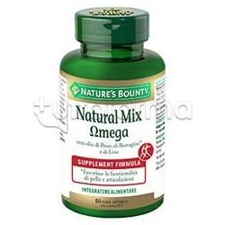 Natural Mix Omega Integratore per Pelle e Articolazioni 60 Perle
