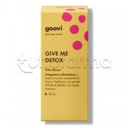 Goovi Give Me Detox Linfa Donna Integratore Drenante 50ml