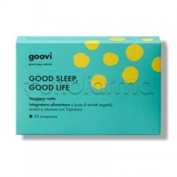 Goovi Recupero Notte Good Sleep Good Life 30 Compresse