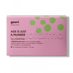 Goovi Ritmo Donna 50+ Age Is Just a Number 40 Compresse