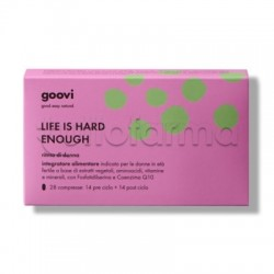 Goovi Ritmo Donna Life Is Hard Enough 28 Compresse