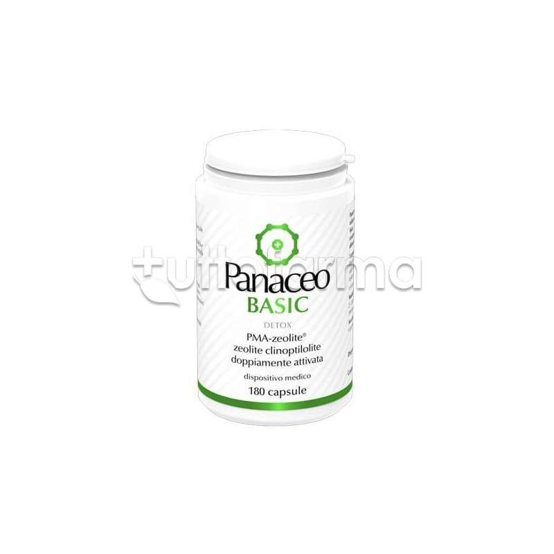 Panaceo Basic Detox Integratore 180 Capsule