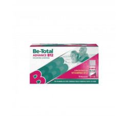 Be-Total Advance B12 Integratore con Vitamina B12 15 Flaconcini