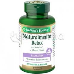 Naturalmente Relax Integratore per Relax e Stress 100 Capsule