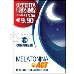 Melatonina Act Integratore per Sonno 150 Compresse