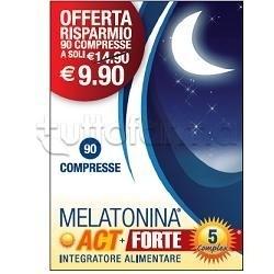 Melatonina Act +3 Complex Integratore per Sonno 120 Compresse
