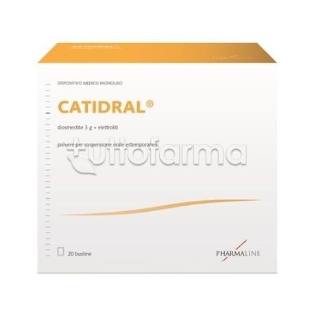 Catidral 20 Bustine Dispositivo Medico Contro Diarrea