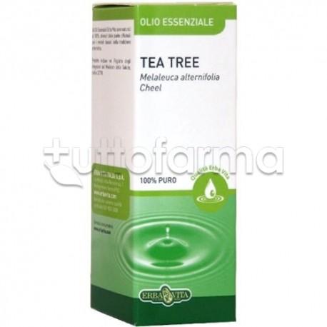 Erba Vita Olio Essenziale Tea Tree Integratore Gola 10 Ml
