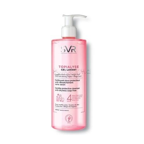 SVR Topialyse Gel Detergente Senza Sapone 400 ml