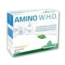 Specchiasol Amino W.H.O. Integratore 20 Bustine