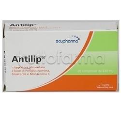 Antilip Integratore per Colesterolo 20 Compresse