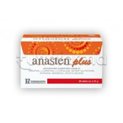 Anasten Plus Integratore per Stachezza 20 Stick