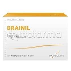 Brainil Integratore per Memoria 30 Compresse
