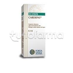 Cardepat Ecosol Integratore per Fegato Gocce 50ml