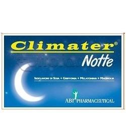 Climater Notte Integratore per Favorire Sonno 20 Compresse