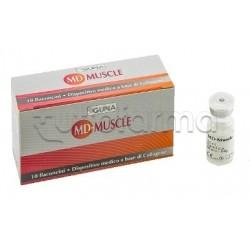 Guna MD Muscle con Collagene 10 flaconcini