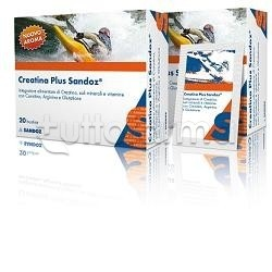 Sandoz Creatina Plus Integratore 20 Bustine