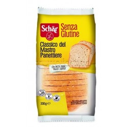 Schar Classico Del Mastro Panettiere Pane Bianco Senza Glutine 330g