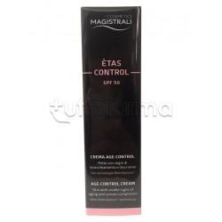 Cosmetici Magistrali Etas Control Crema Age Control Anti Invecchiamento SPF 50 50ml