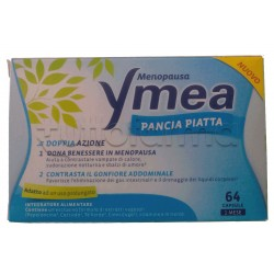 Ymea Pancia Piatta Integratore per Menopausa 64 Capsule