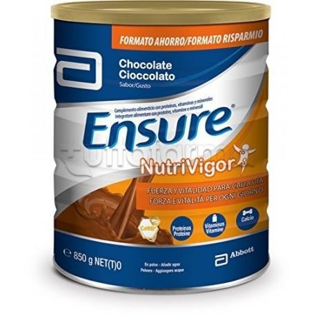 Ensure Nutrivigor Polvere Gusto Cioccolato 850g
