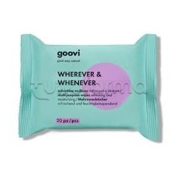 Goovi Salviettine Multiuso Wherever Whenever 20pz