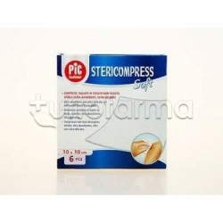 Garza Pic Stericompress Soft Tessuto Non Tessuto 10 x 10 cm 6 Pezzi