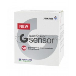 Glucocard G Sensor Misuratori Glicemia 50 Strisce