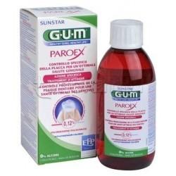 Gum Paroex Collutorio 0,12 % Clorexidina per Gengiviti Parodontiti 300 ml