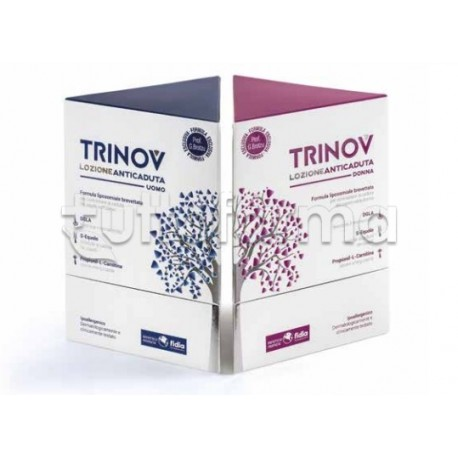 Trinov Lozione Anticaduta Donna Formula Brotzu Spray 30ml