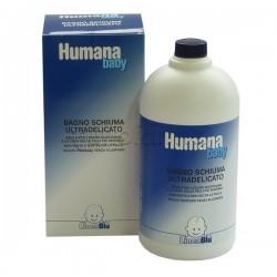 Humana Baby Soap Ultradelicato Sapone Liquido Detergente Idratante 1 Litro