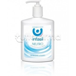 Infasil Sapone Liquido Neutro Detergente Corpo 300 Ml