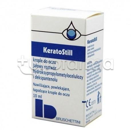 Keratostill Gocce Oculari Lubrificanti Protettive 10 ml