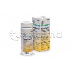 Keto Diastix Test Glicosuria e Chetonuria 50 Strisce Reattive