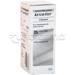 Ketur Test Chetoni Urina 25 Strisce Reattive