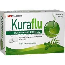 Kuraflu Gola Eucalipto 20 Compresse