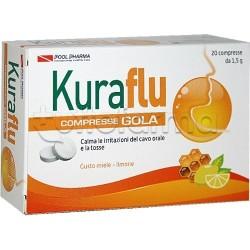 Kuraflu Gola Limone E Miele 20 Compresse