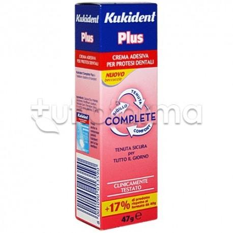 Kukident Plus Complete Crema Adesiva 47 gr