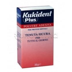 Kukident Plus Polvere Adesiva per Protesi Dentali 30 gr